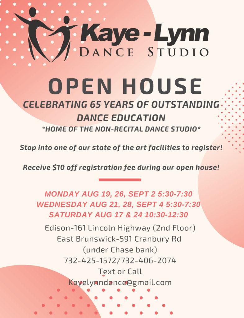 Kaye Lynn Dance Open House