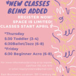 new classes spring 2021