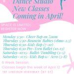new classes april 2021