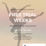 kaye lynn dance free trial weeks