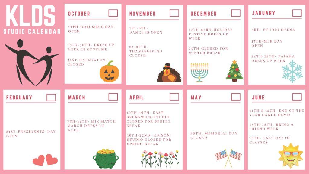 KayeLynn_Dance_Studio_Calendar